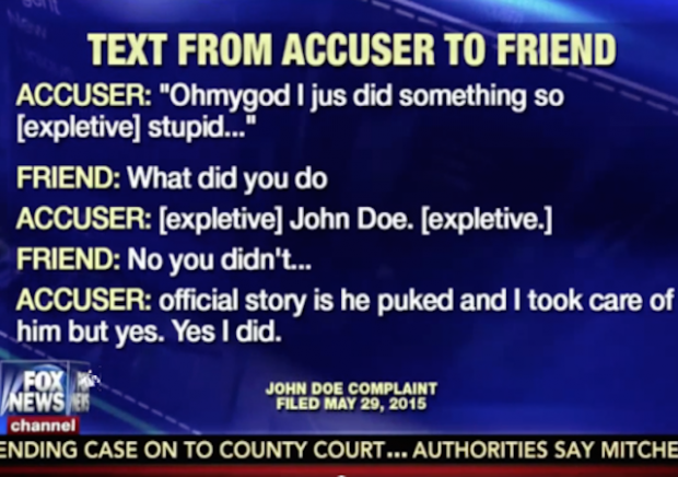 """""""You're done. Once you are accused, you're done."""""""