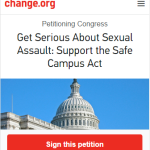 The Real Reason the Left Opposes the Safe Campus Act