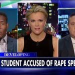 Student accused of rape speaks with Megyn Kelly